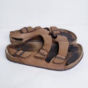 Leather Birkenstocks size 42